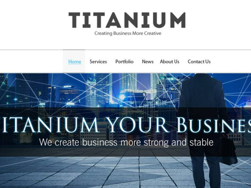 Titanium Web Design & Development
