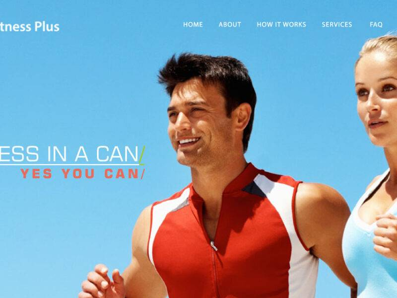 Fitness Plus Web Design & Development
