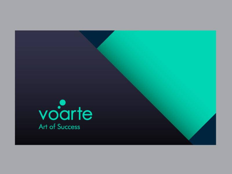 Voarte Visiting Card Design