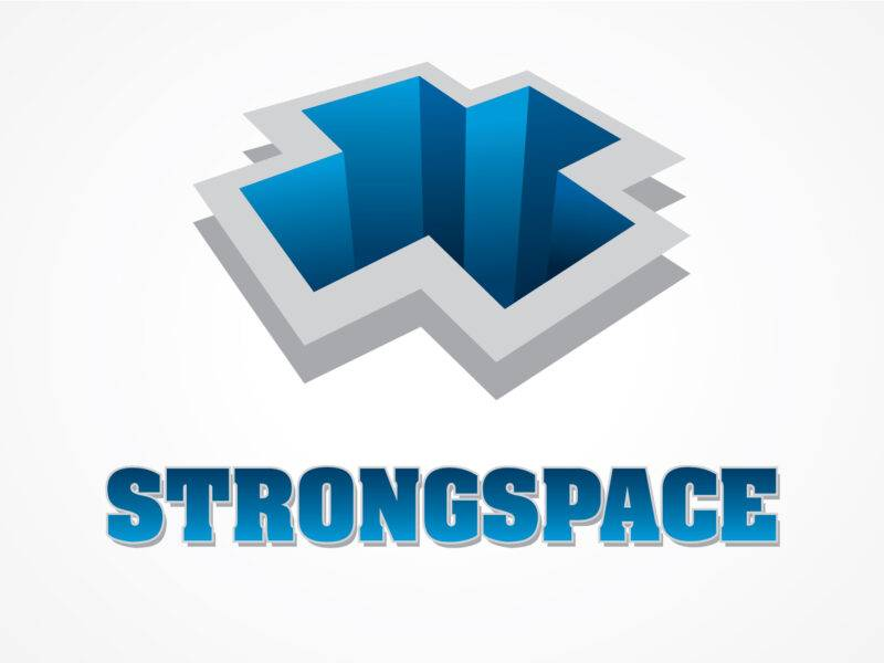 Strong Space Logo Design