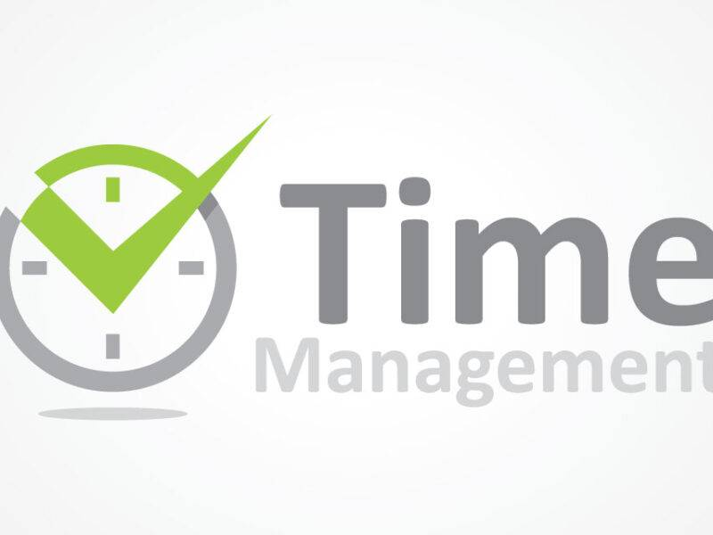 Time Management Logo Design